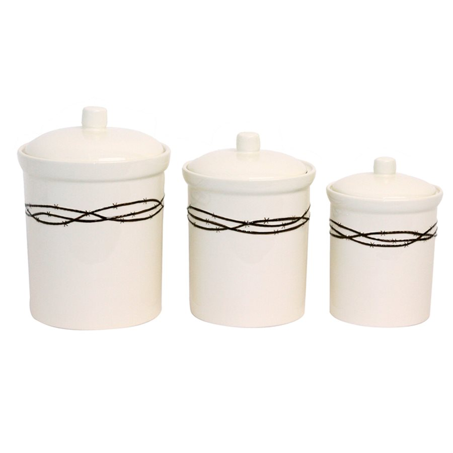 BARBWIRE CANISTERS $89