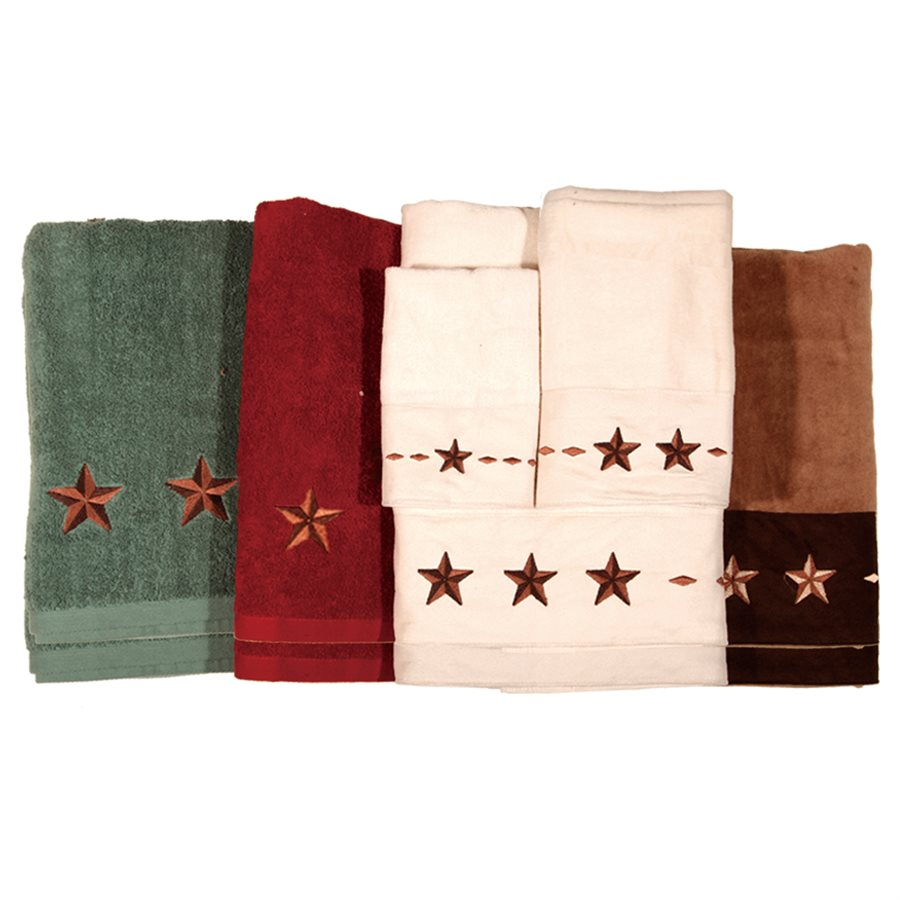 STAR BATH TOWELS $42