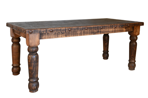 RUSTIC SANTA RITA TABLE $599