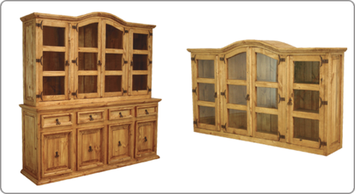4 DOOR HUTCH & BUFFET  $799