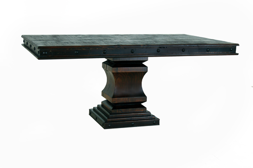 GRAND HACIENDA 6 FT SINGLE PEDESTAL TABLE  $799