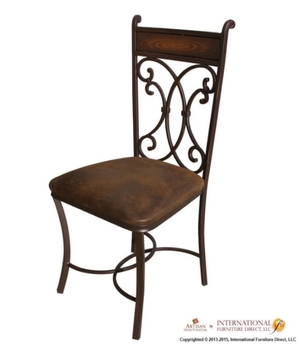 FORGED IRON CHAIR                             $179