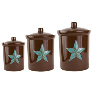 STAR CANISTER SET        $89.00