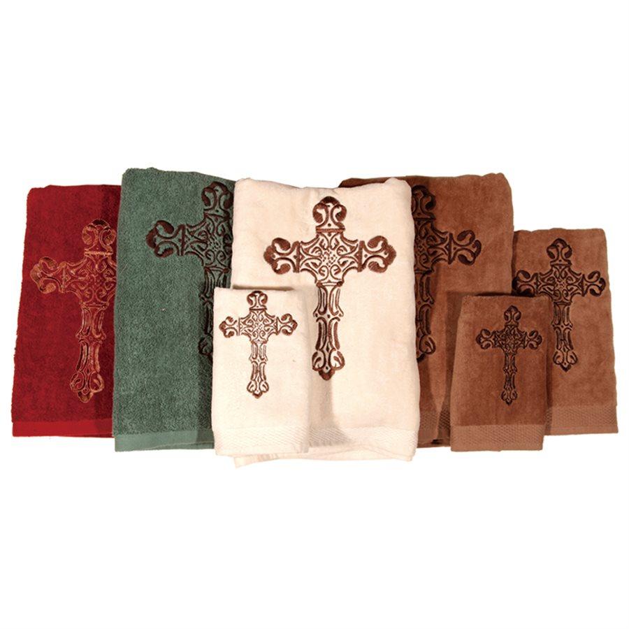 CROSS TOWELS $42