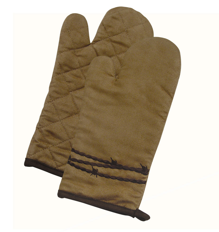 BARBWIRE OVEN MITTS $6.99