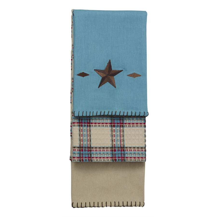 STAR KITCHEN TOWELS  $42
