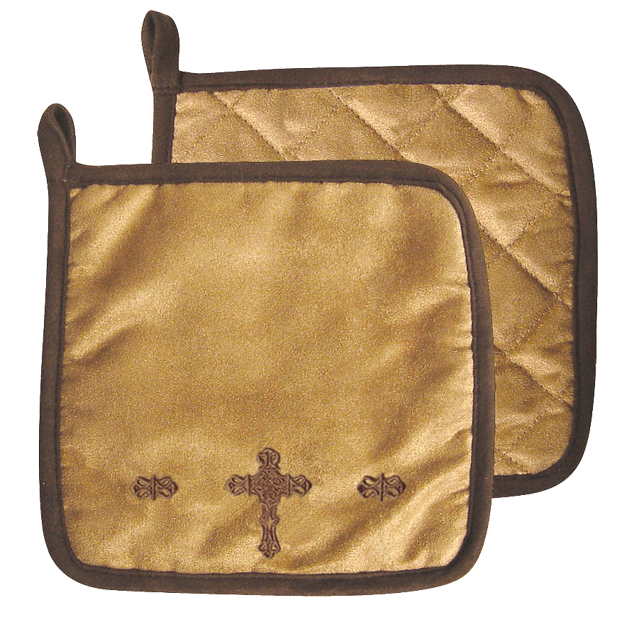 CROSS OVEN MITTS  $8.99 SET