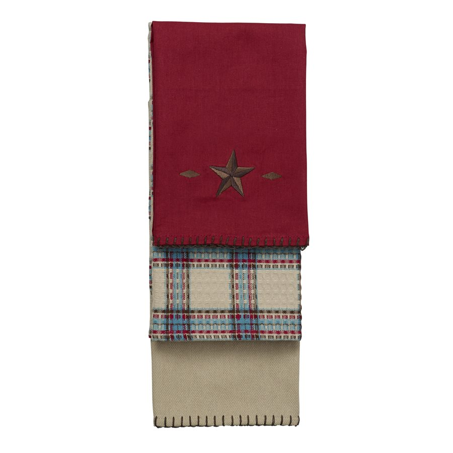 STAR KITCHEN TOWELS $42
