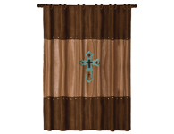 LAS CRUCES SHOWER CURTAIN $89