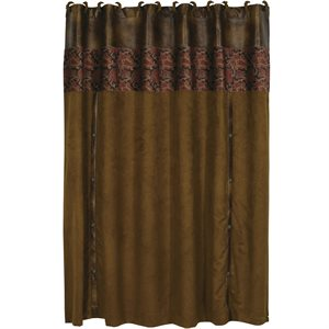 RUSTIC SHOWER CURTAIN $99