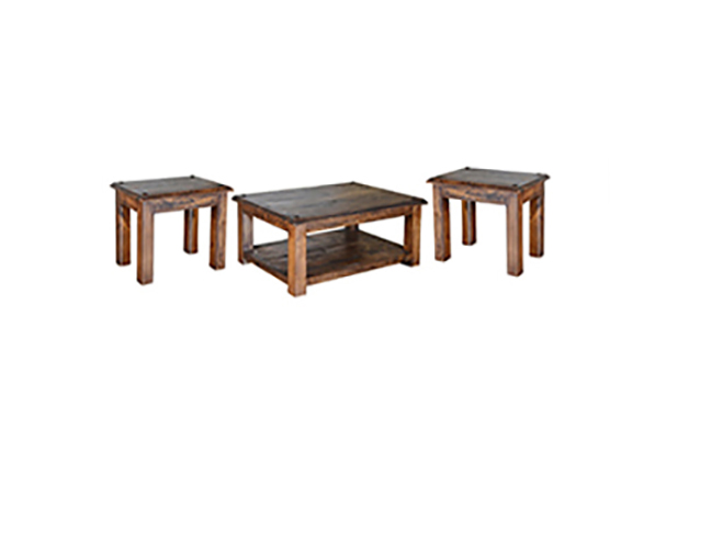 RUSTIC OCCASIONAL SET       $449