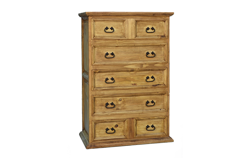 TALL 5 DRAWER CHEST $369