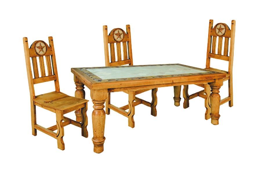 6 FT MARBLE DINING SET    $1249