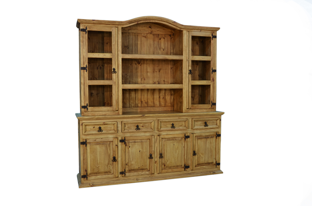 4 DOOR HUTCH AND BUFFET $799