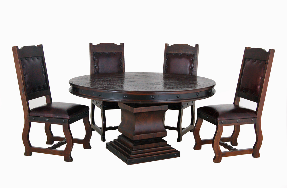 "gh 60"" round table set$1699"