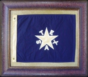 DE ZAVALA SMALL FLAG  $109