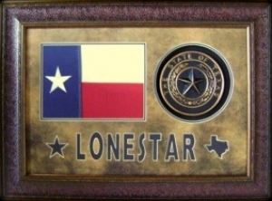 LONE STAR FLAG / SEAL                      $179