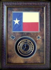 TEXAS FLAG W/ SEAL    $179
