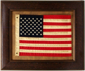 ANTIQUE AMERICAN FLAG  $109