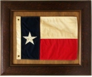 ANTIQUE TEXAS FLAG  $109
