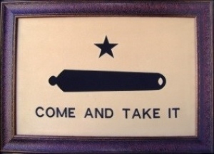 COME AND TAKE IT LARGE FLAG $129