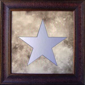 STAR MIRROR FRAME                             $99