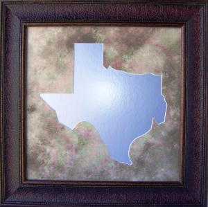 TEXAS MIRROR FRMAE                           $99