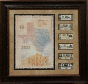 ALAMO MAP W/ MONEY                      $179
