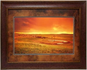 STORM OVER PRAIRIE$159