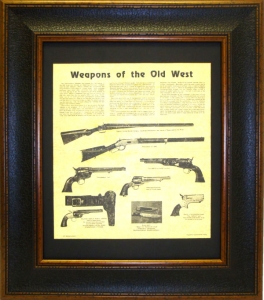WEAPONS OF THE OLD WEST  $99