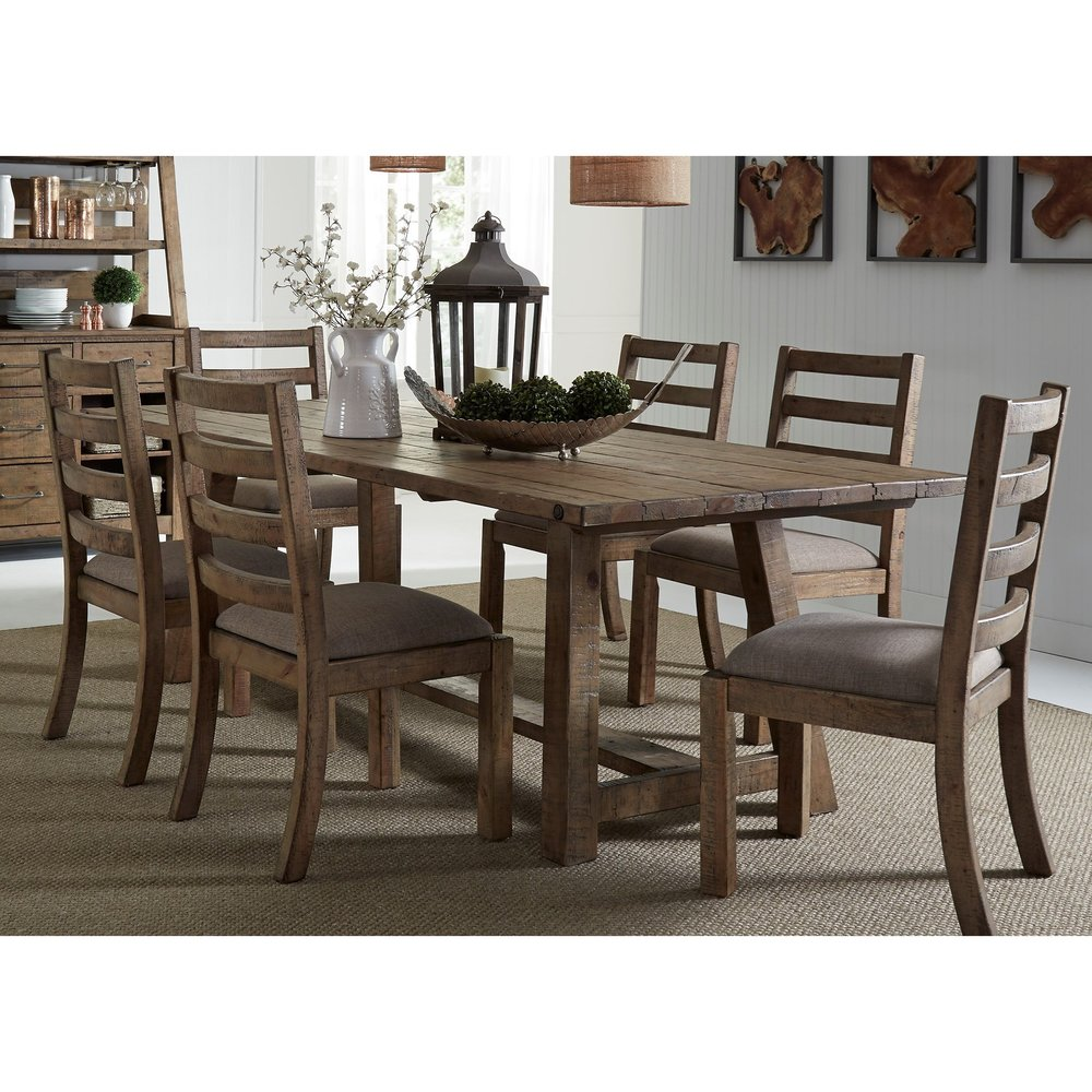 liberty trestle table set $1999