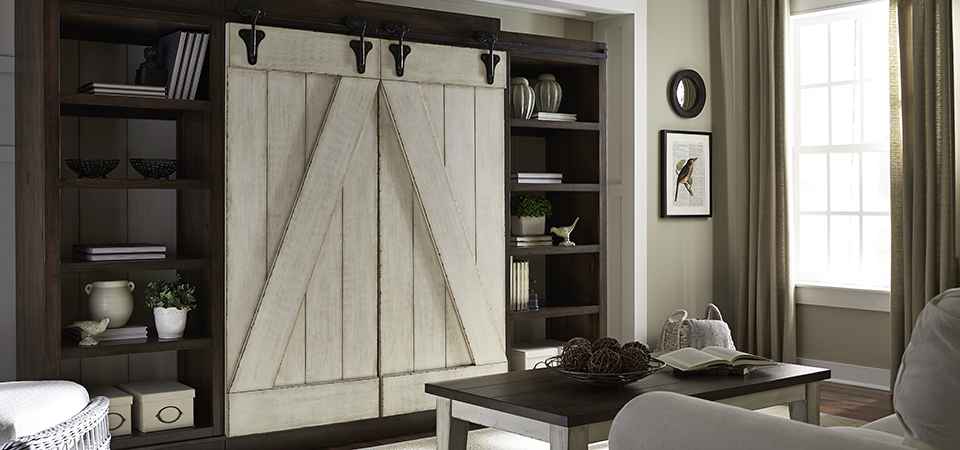 LIBERTY BARN WOOD DOOR ENT. CTR$1999