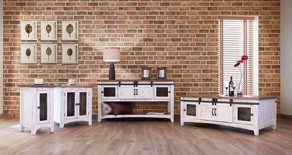 pueblo white occasional set $999