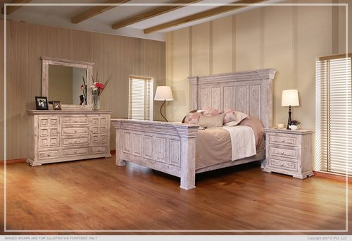 White Rustic Bedroom Furniture ifd1022terra-set — the rustic mile