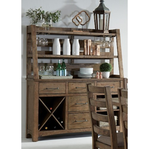 PRESCOTT HUTCH AND BUFFET$1599