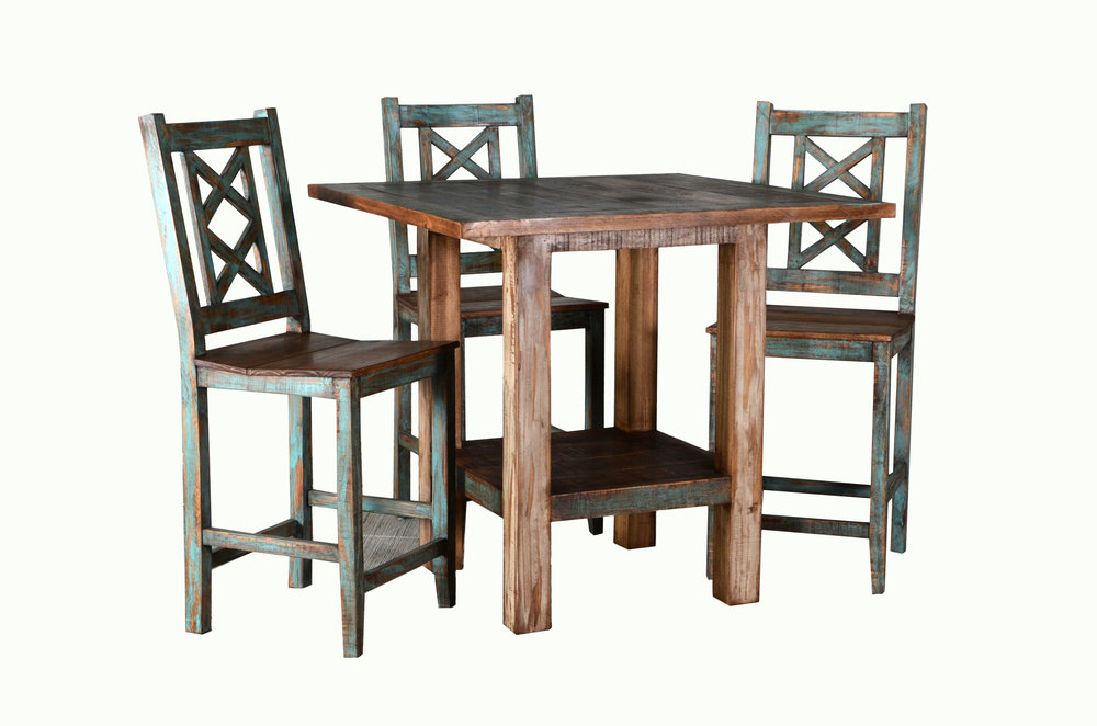 CABANA COUNTER TABLE SET