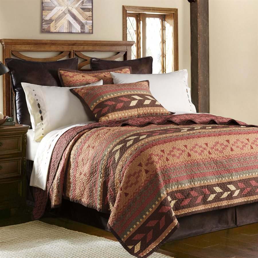 broken arrow bedding