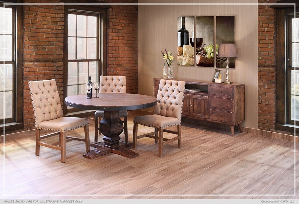 PUEBLO DARK DINING SET $1199