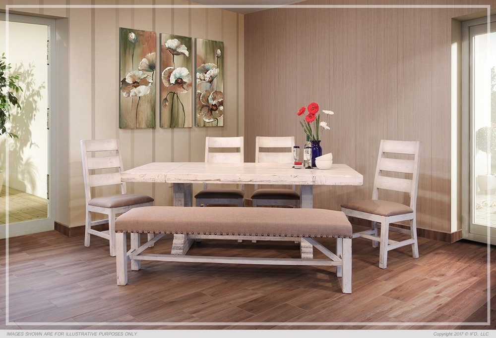 white terra dining set$1599