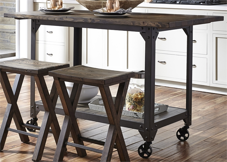 CALDWELL bar w/ 4 stools $769
