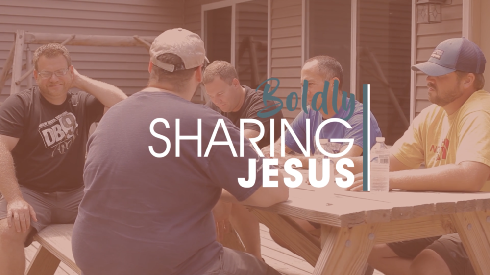 BOLDLY Sharing Jesus - Our highest call is to be a Church that is BOLDLY SHARING Jesus. We believe Jesus is the only true hope for the world.