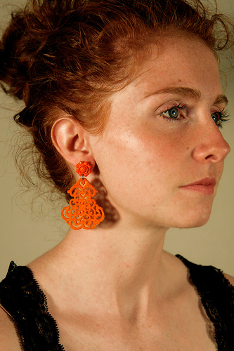 3 Blazing Orange Earrings.jpg
