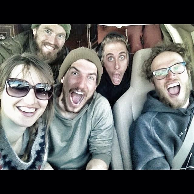 Alaska super selfie! Goodtimes ahead! #snowboarding #alaska #happy #selfie