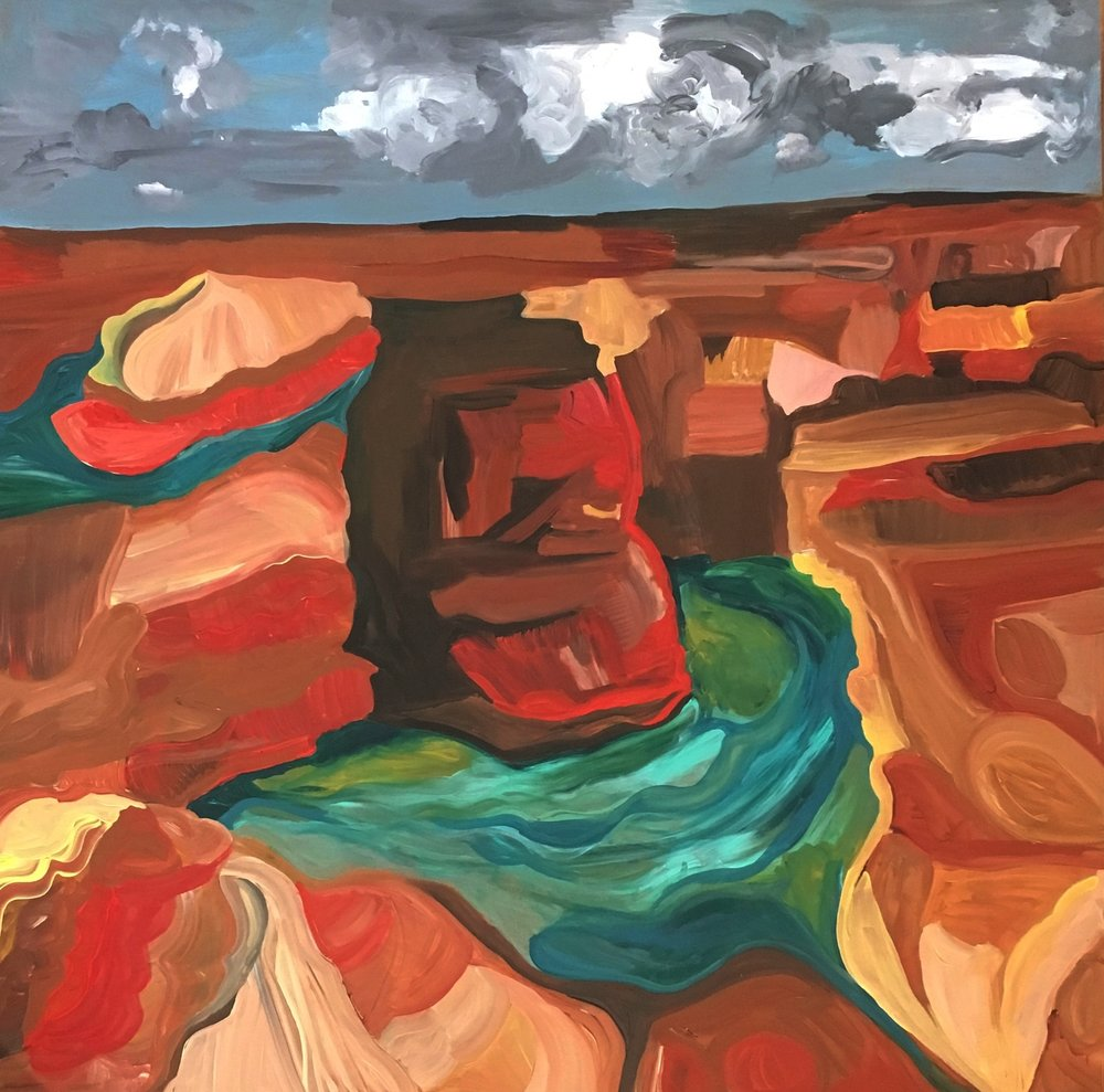 Rendering from Ansel Adams: Canyon de Chelly