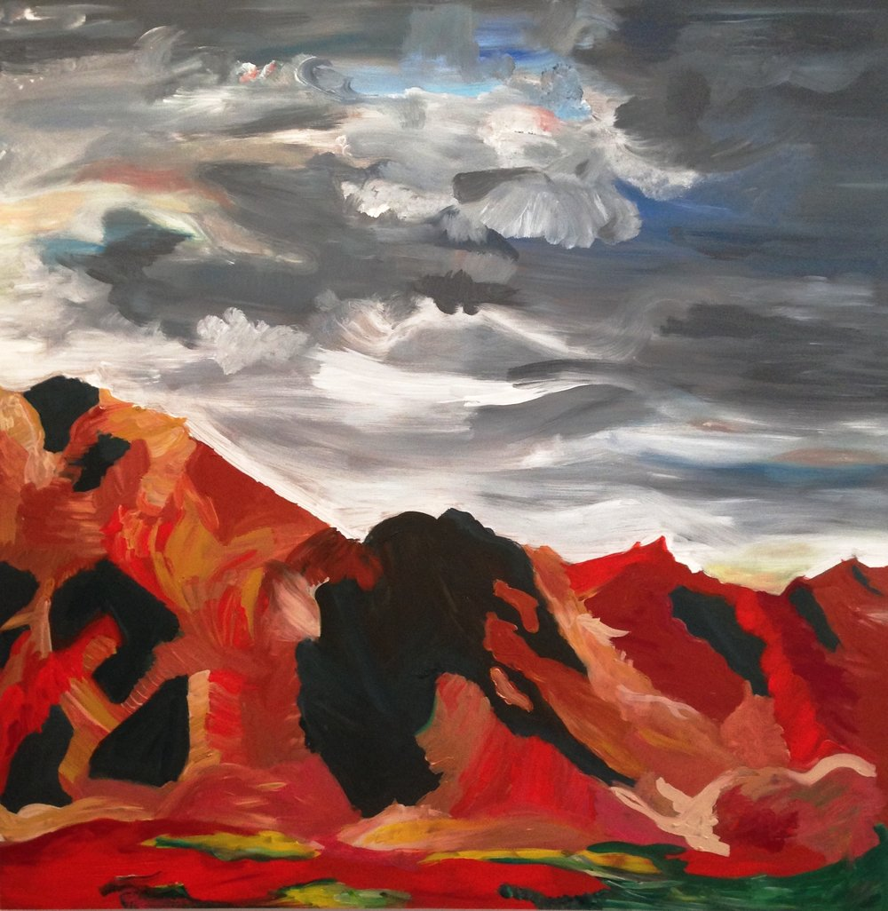 Rendering of Ansel Adams: Near Death Valley