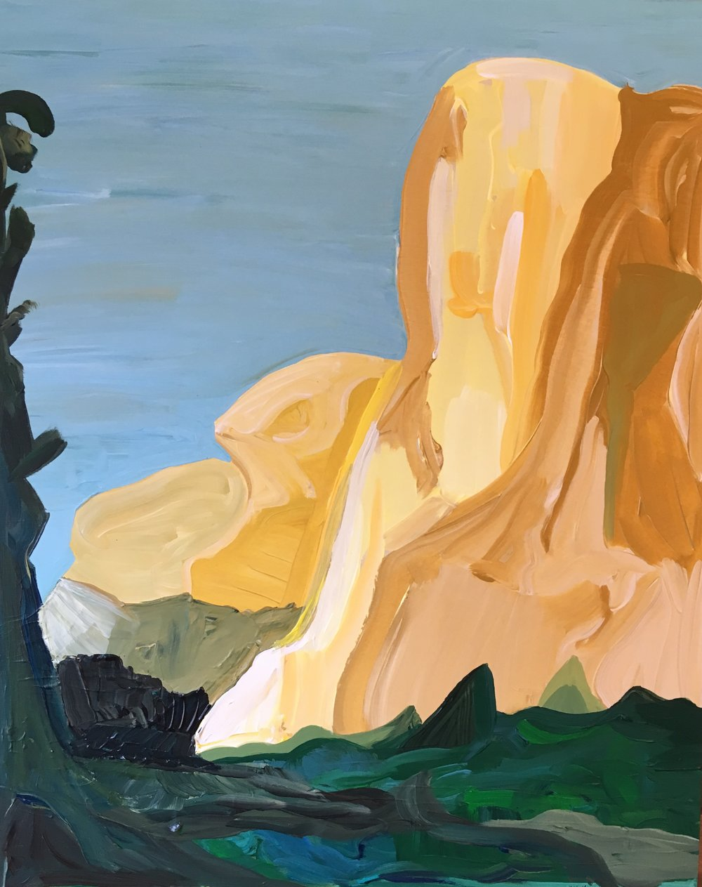 Rendering of Ansel Adams: El Capitan