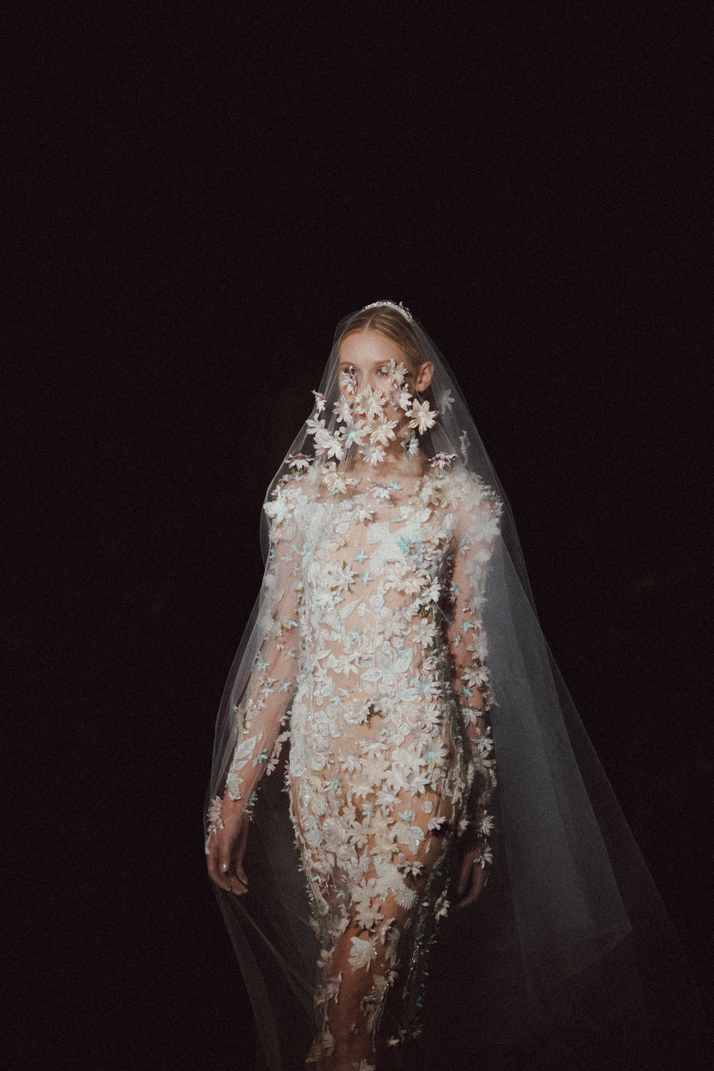 reem acra bridal fashion week new york city