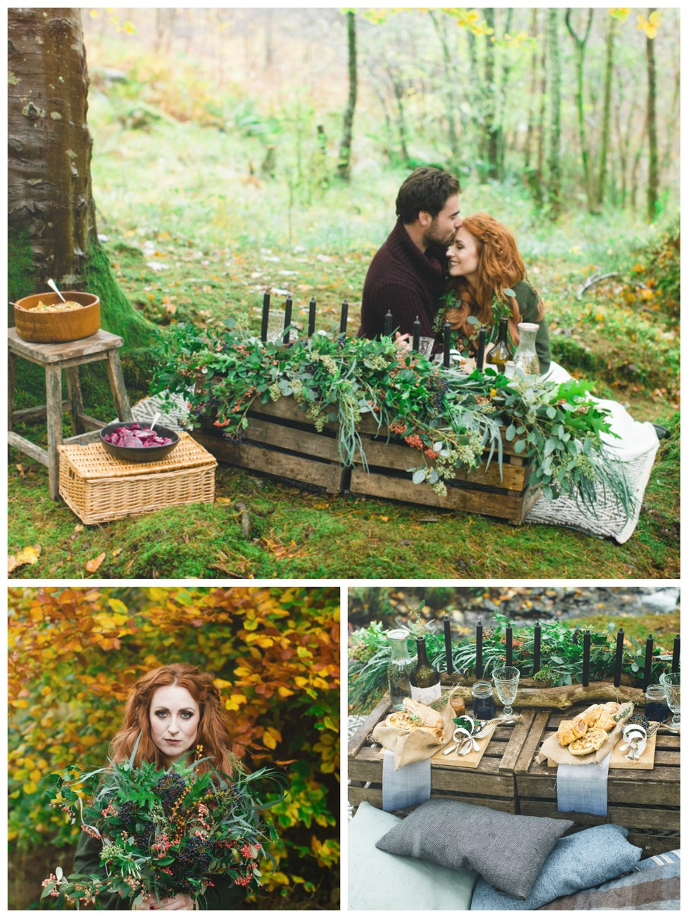 Wilderness wedding