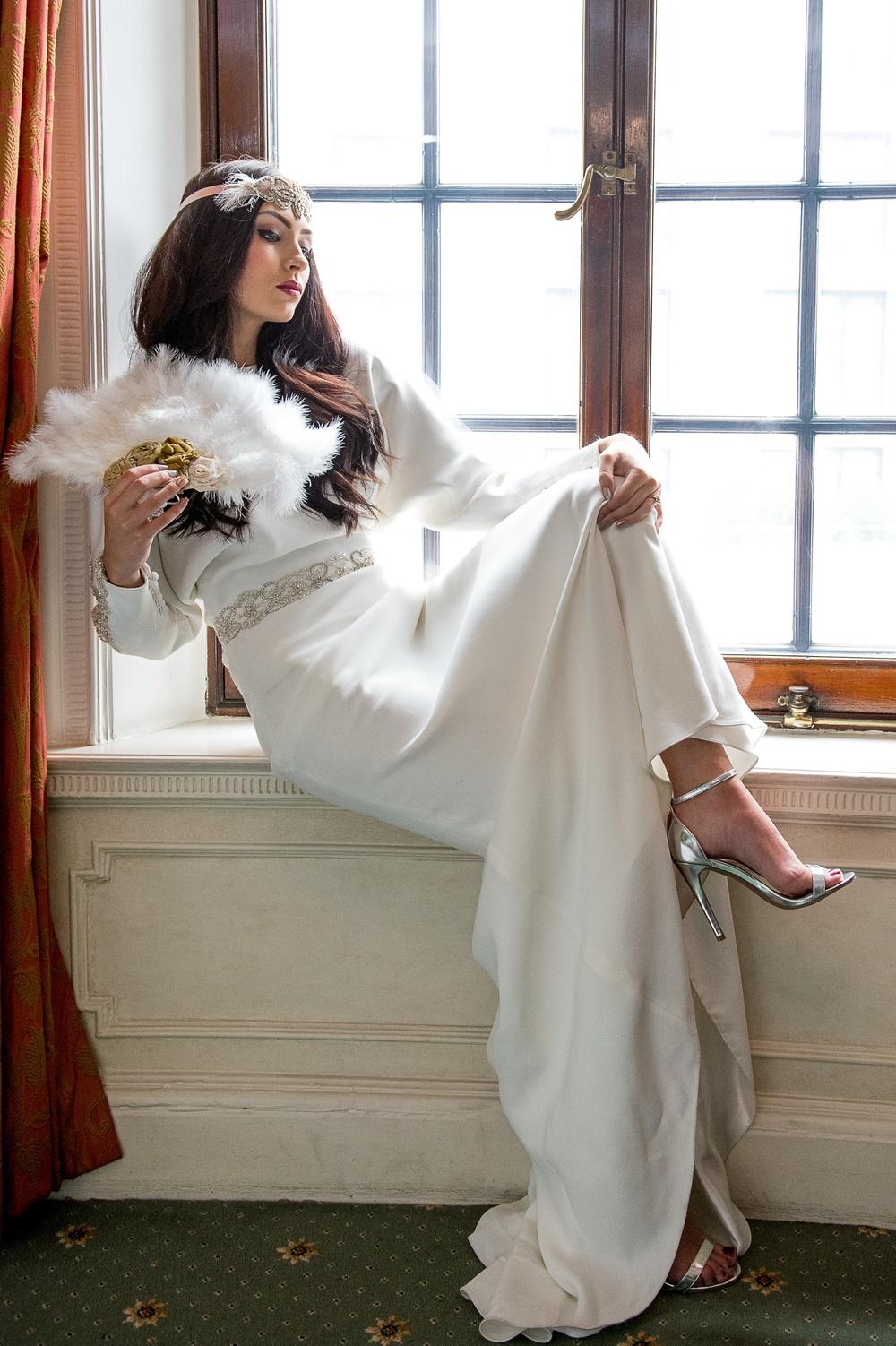 1970s wedding inspiration gold, white, marsala