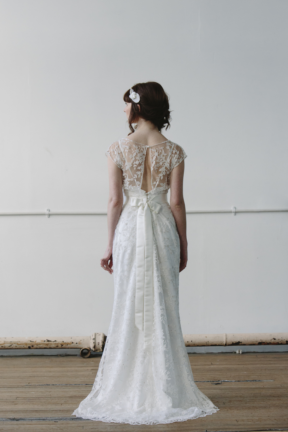 Designer wedding dress - Flossy and Dossy lace dress